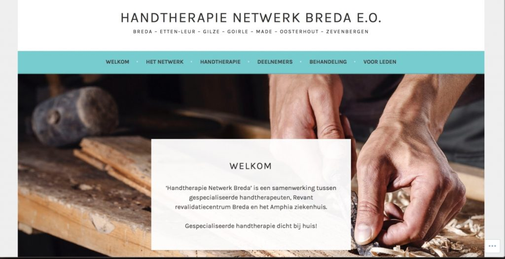 Handtherapie netwerk breda, handfysiotherapeut
