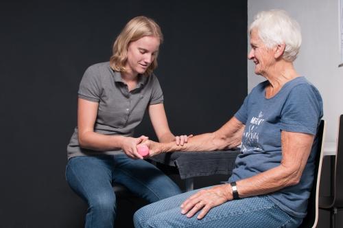 handtherapie, handtherapeut, polsstabilisatie, oefentherapie hand, trigger finger